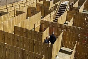 labirynt-drewniany